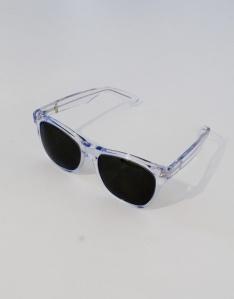 Retro Super Future Clear Sunglasses $126