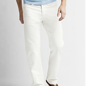 Levi's 501 Shrink-to-Fit in White $59