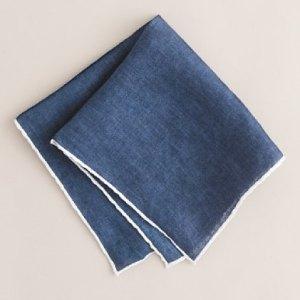 J. Crew Linen Pocket Square $42