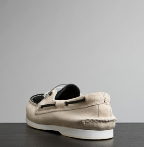 Boat Shoe Made of Canvas