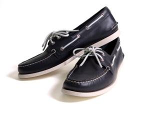 Sperry Boat Shoe in Navy