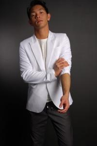 Bertrand Blazer in White