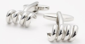 J. Press Corkscrew Cufflinks