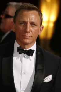 Daniel Craig Sporting a Dolce Shawl Collar Tux