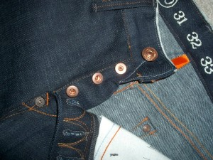 Earnest Sewn Raw Jeans