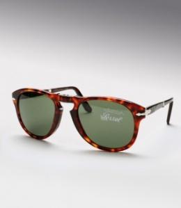 Persol 714 Folding Sunglasses in Tortoiseshell