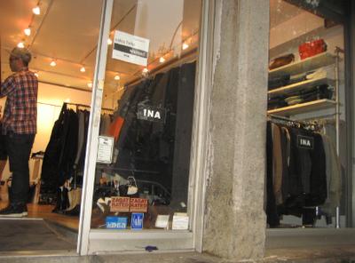 Mott St. Store Front
