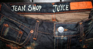 Jean Shop Rocker Distressed With Personalized Name $420