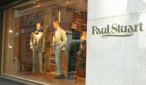 Paul Stuart New York Storefront
