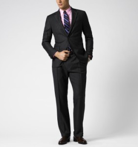 Ralph Lauren Pin Stripe Suit