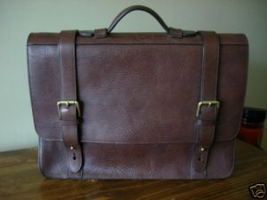 Ralph Lauren Italian Leather Briefcase $199