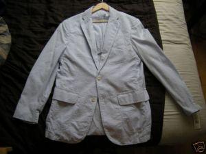 Ralph Lauren Seersucker Blazer $20.50