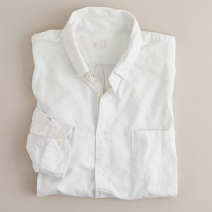J. Crew Extra-Washed Oxford