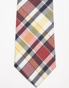 J. Press Cotton Madras Tie