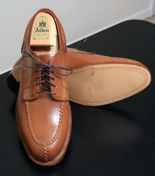 Alden Split Toe Shoe