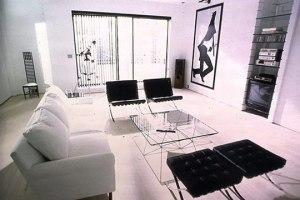 Patrick Bateman's (Christian Bale) apartment