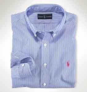 Ralph Lauren Blue Bengal Stripe Shirt