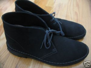 Clark's Blue/Grey (hard to find color) Desert Boot sz 10.5 $60