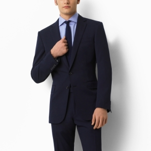 Ralph Lauren Black Label Anthony Gabardine Navy Suit