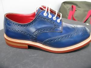 Tricker's Blue Brogues