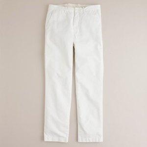 J. Crew Slim-Fit Trouser in White