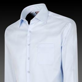 Thomas Pink Slim-Fit Blue Dress Shirt