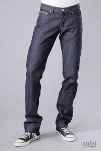Naked and Famous Weirdguy Selvage Indigo Jeans