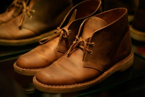 Clarks Beeswax Leather Desert Boot