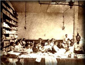 Hamilton Shirt Factory in 1905