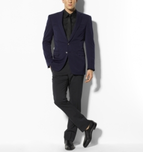Ralph Lauren Anthony Gabardine Sport Coat