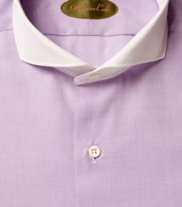 Phineas Cole Nigel Twill Cutaway Collar Shirt