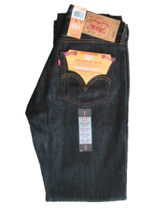 Levi's Shrink-to-Fit 501 Jeans