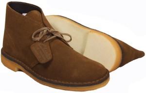 Clark's Brown Suede Desert Boot