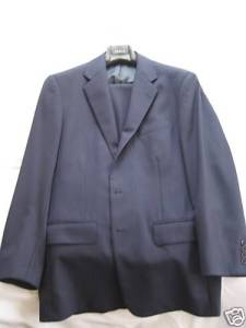 Ralph Lauren Purple Label Navy Suit sz 39R $350