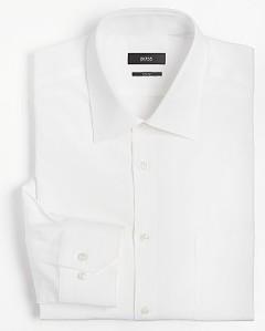 Boss Black White Dress Shirt