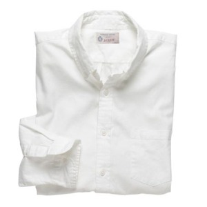 J. Crew Solid Vintage Oxford