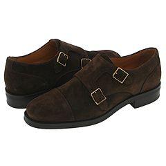 Ralph Lauren Collection Suede Double Monk Strap Shoe