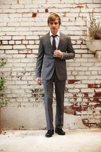 J. Lindeberg Grey Suit