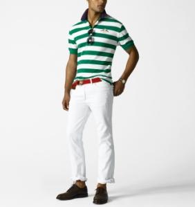 Ralph Lauren White Hudson Jeans
