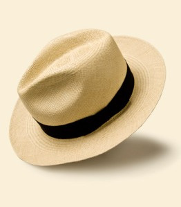 Paul Stuart Panama Straw Hat