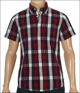 Gant GNH Seersucker Big Madras Short Sleeve Button Down