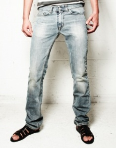 Acne Washed Blue Jeans