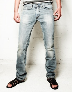 Acne Washed Blue Mic Texas Jeans