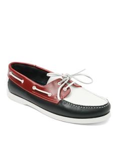 ASOS Tricolor Boat Shoes