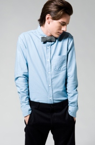 Band of Outsiders Blue Oxford