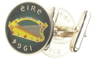 Irish Harp Cufflinks