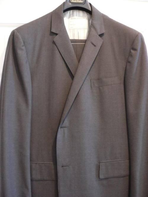 New Brooks Bros. Black Fleece Charcoal Suit 40R, $525