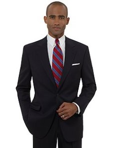 Brooks Brothers Brooksease Navy Suit