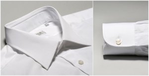 #5 Charvet White Dress Shirt