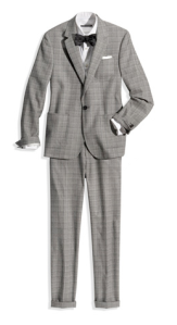 Club Monaco Prince of Wales Suit